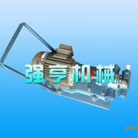新疆强亨YDCB移动式齿轮泵可做润滑油泵用