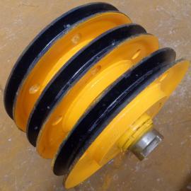 河北实惠的滑轮组供应20T滑轮组起重滑车定滑轮钢丝绳滑轮