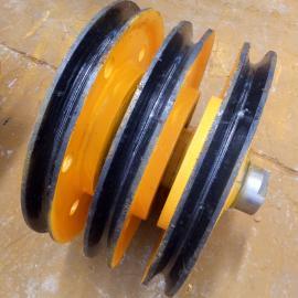 20T铸钢材质滑轮组固定式轴承滑轮起重机滑轮港机滑轮