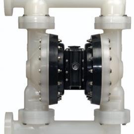 废水处理板框式压滤机专用英格索兰气动隔膜泵 耐腐蚀PP材质