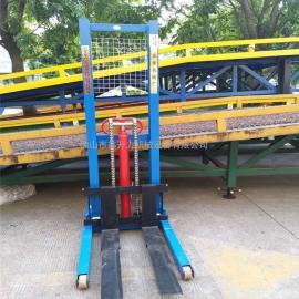 可提供维修载重2吨手动液压堆垛机/托盘装卸车/装卸升高车