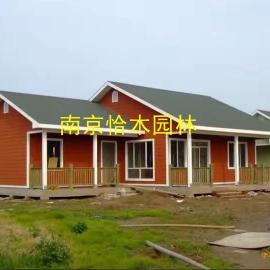 淮安防腐木厂家出售各种木屋 花架葡萄架 凉亭 仿古长廊