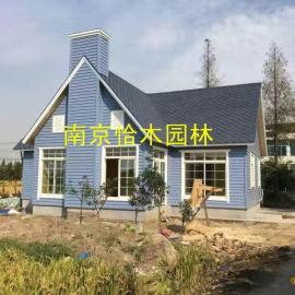 南京防腐木厂家定制各种木屋 花架葡萄架 长廊 木地板 花箱