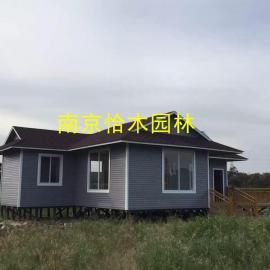 南京防腐木工程公司可定制各类防腐木 木屋 花架 凉亭 地板