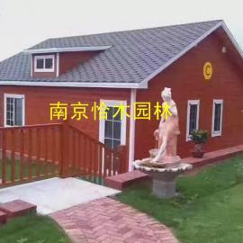 南京木屋建造公司可定制各种木屋 木房子 木别墅