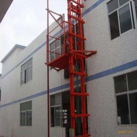山东聊城固定液压导轨式升降机酒店传菜机简易电梯