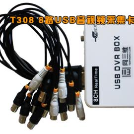 同三维T308 八路USB监控音视频采集卡盒监控软件