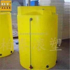 湖南絮凝剂搅拌装置 圆形计量加药桶规格多样