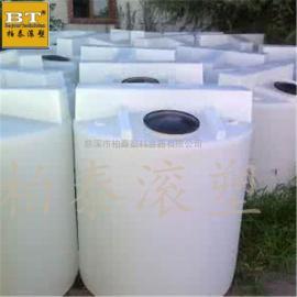 梧州带刻度计量搅拌桶 圆形立式加药箱(规格图)
