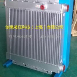 上海剑邑ELC-6液压油散热器工程机械液压油冷却器散热器