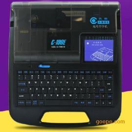 凯标连接电脑打印机C-190T套管印字机