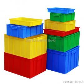 厂家直销各种尺寸塑料周转箱|胶筐|胶箱胶箩工厂周转使用