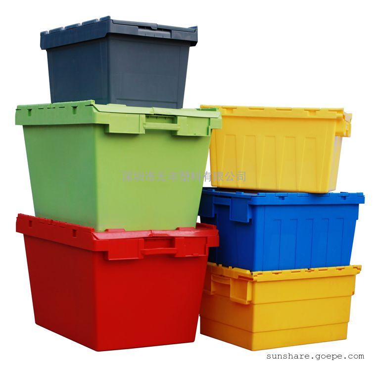 厂家直销物流箱|斜插式胶箱|物流周转箱|书籍包裹运输箱