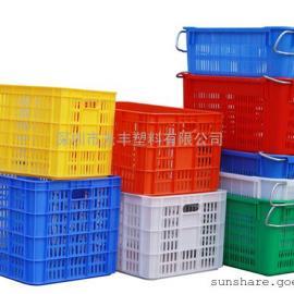 厂家直销各种尺寸的水果箩蔬菜筐|塑料箩|脐橙果箩|火龙果胶筐