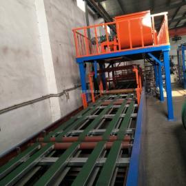 匀质防火板氧化镁加聚苯颗粒外墙保温板生产线精工制作