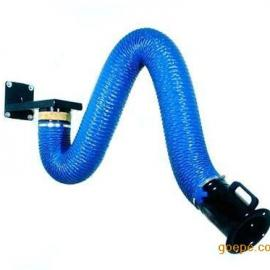 呼和浩特柔性阻燃吸气臂 万向吸气臂 焊烟净化器配件 伸缩臂