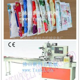 武汉单片装纸尿裤包装机,卫生用品试用装纸尿裤包装机