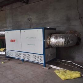 河南胶房烘干环保热风炉-森淼电磁节能热风机组