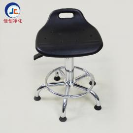 东莞佳创厂家批发防静电pu聚氨酯椅子 防静电旋转升降凳子