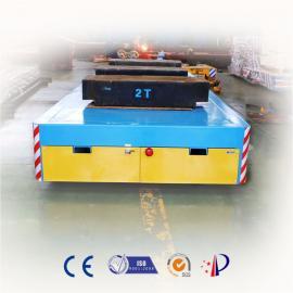 遥控电动平板车搬运液压电器混凝土制品轨道台车
