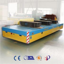 电动转运平车港口集装箱平板拖车电动平车