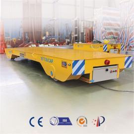 模具车蓄电池磁导航运输车 钢轨平板车无磁轨道搬运车