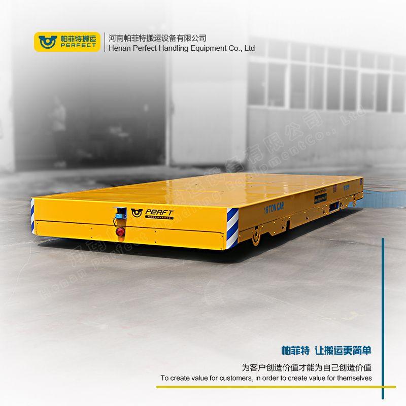 双轨电动平车无轨移动功能展示工件搬运无轨平车