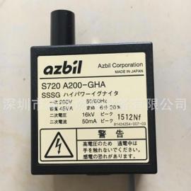 azbil Corporation日本山武点火变压器