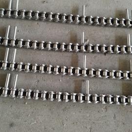 供应悬挂式链条 小节距八字链条 加长轴输送链条 清洗悬挂链