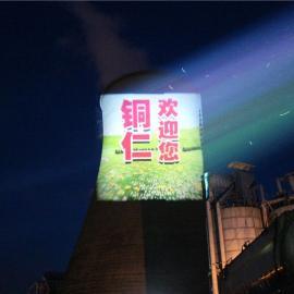 投影广告专用灯_大型广告投影机_巨幅楼体广告投影灯