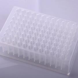 Eaivelly1.2ml 96孔深孔板 透明,96 圆形孔,U形底,低吸附