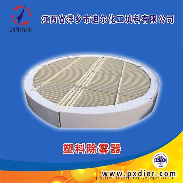 迪尔化工塔内件定制生产PP除雾器折流板