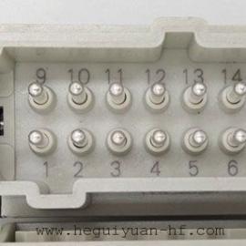 16芯航空插头
