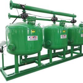 供应 多灵 浅层砂介质过滤器 高效球型浅层砂过滤器
