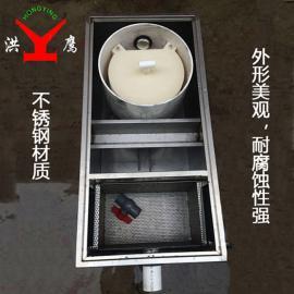 厨房油水分离器 餐饮污水处理设备 小型槽下式隔油池