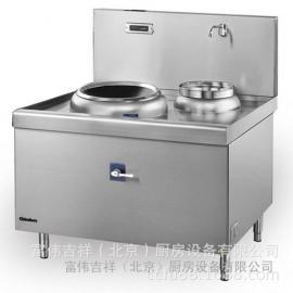 华磁MG12T单头单尾电磁炉 Chinducs商用电磁炉