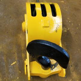 5T行车吊钩组铸钢滑轮350本地DG20号锻钢钩头半封吊钩