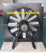 剑邑替代法国OLAER奥莱尔LAC2-078液压风冷却器液压散热器