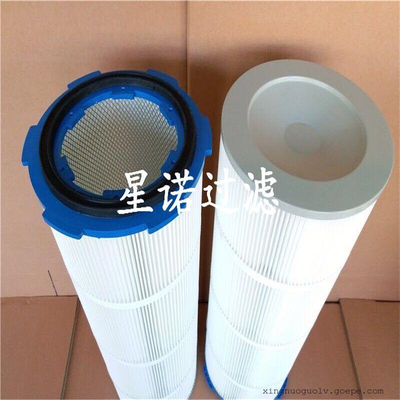 厂家直销防静电除尘滤芯滤筒 脉冲大风量卡盘除尘滤芯