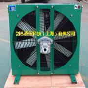 徐工三一中联履带吊车起重机强夯机液压油散热器冷却器