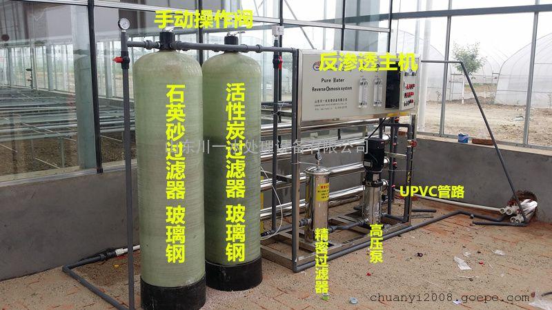 0.25T/H 纯净水反渗透水处理设备 企业事业单位饮水设备