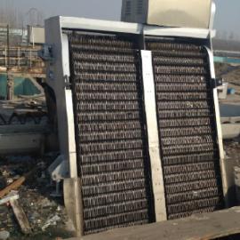 供应江苏回转式格栅除污机、诸城善丰机械回转式机械格栅的结构