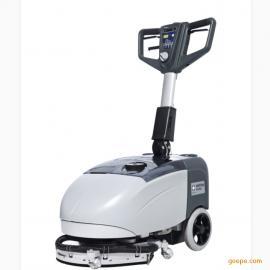 力奇先进SC351洗地机小型洗地吸干机力奇手推式洗地机