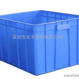 厂家直销600*500*300MM塑料周转箱|胶箱