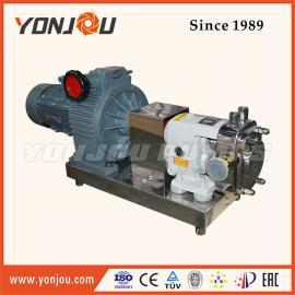 厂家直销 高粘度转子泵 食品卫生级饮料泵 凸轮转子泵