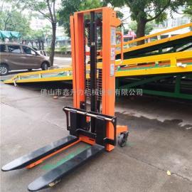 手动液压堆高车/升降叉车/货物装卸车/货物运输车