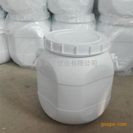 山东菏泽60升八角塑料桶60公斤食品塑料罐60L化工桶