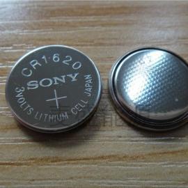 日本原装进口索尼CR1620一次性3V纽扣电池
