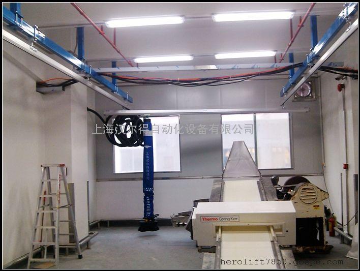 瑞典TAWI桥式轨道系统、50kg编织袋投料真空提升吊具