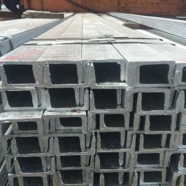 南京镀锌槽钢 热镀锌槽钢销售公司